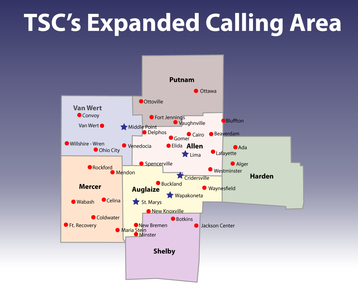 Expanded Calling Area